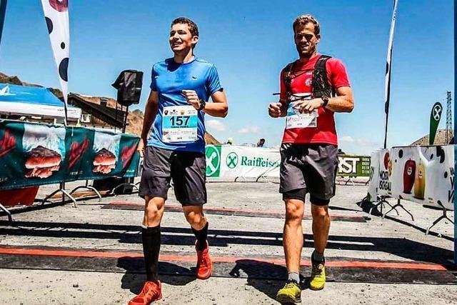 Von Kandern zum Titisee: Zwei Läufer sammeln Spenden gegen den Krebs