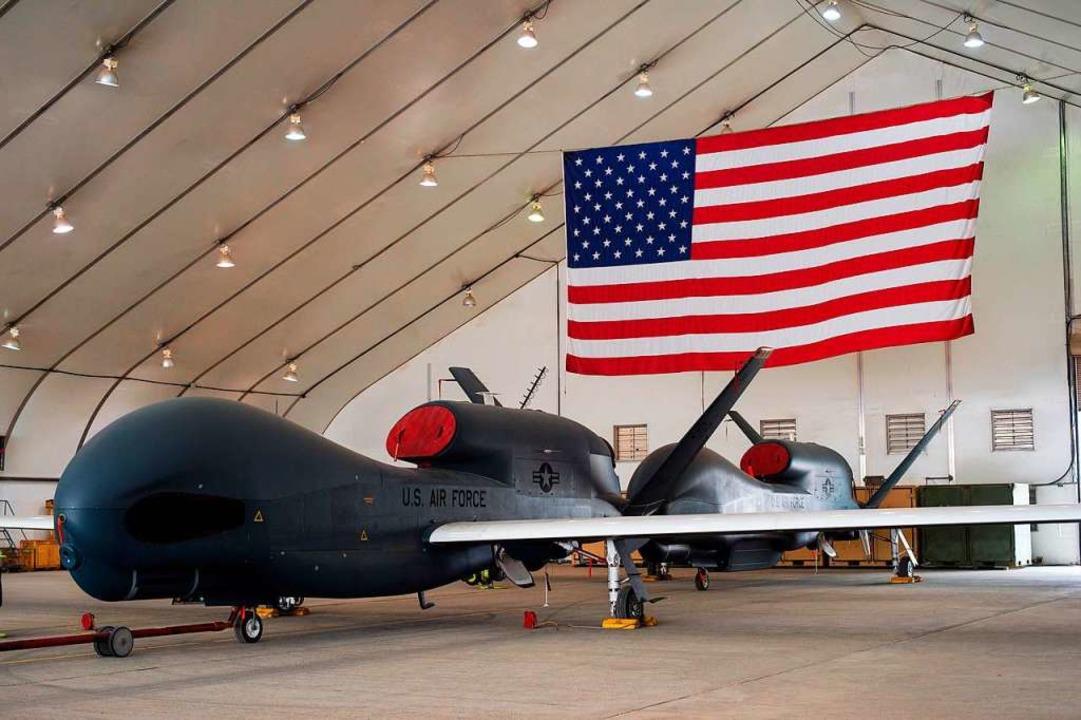 "Eine ""Global-Hawk""-Drohne (Archivbild)  | Foto: Sra Tyler Woodward (dpa)"