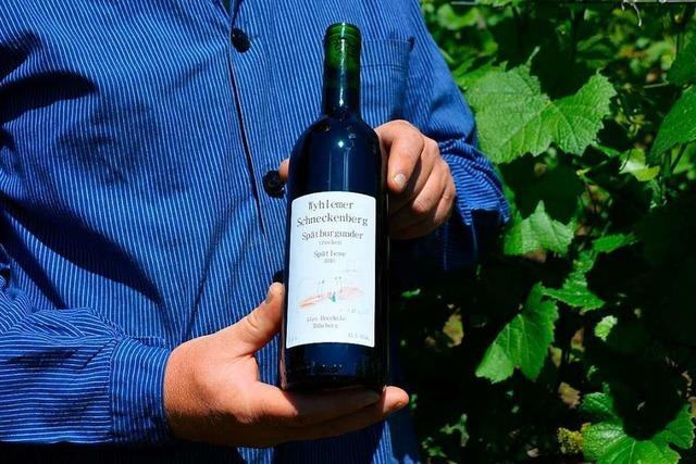 Dieser Wein stammt vom südlichsten Weinberg Deutschlands