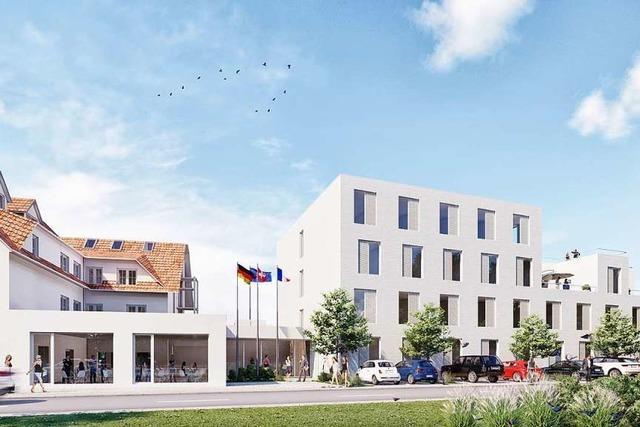 Vor dem Europa-Park-Eingang entsteht ein neues Hotel