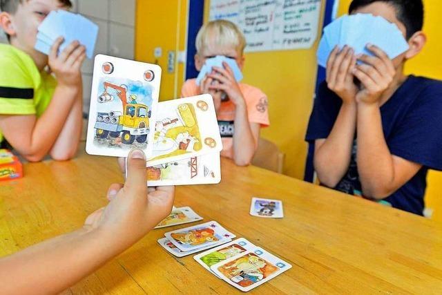 Drei Tage lang treffen sich Kinder im Kinder- und Jugendtreff in Haslach