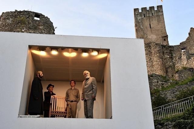 Burgfestspiele Rötteln mit Bertolt Brechts