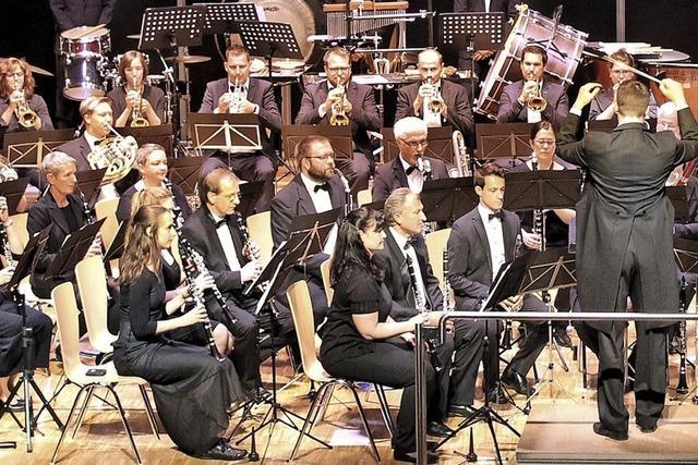 Sinfonisches Blasorchester Hochrhein und Projektorchester Würzburg treten in Bad Säckingen auf