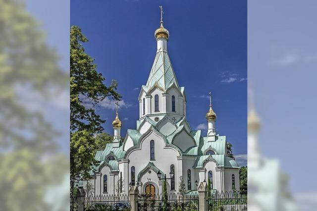 Eine Kirche wie aus einem russischen Märchen