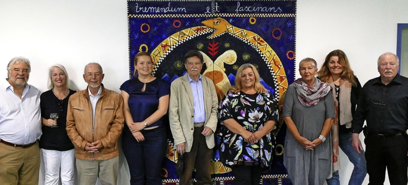 Die  Künstler  (von links): Thomas Lor...ller, Gesa Friede und Benno Wildemann   | Foto: Victor Adolf
