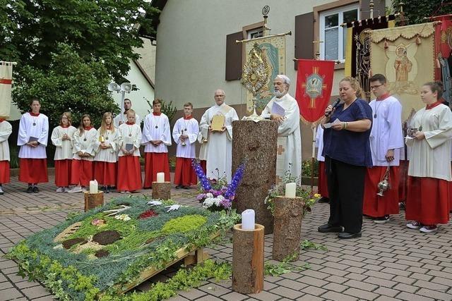 Fronleichnam in Kippenheim