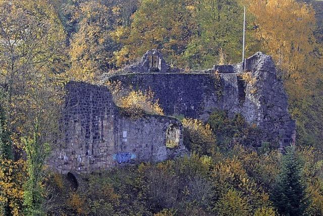 Neuer Zuschuss für die Burgruine Diersburg