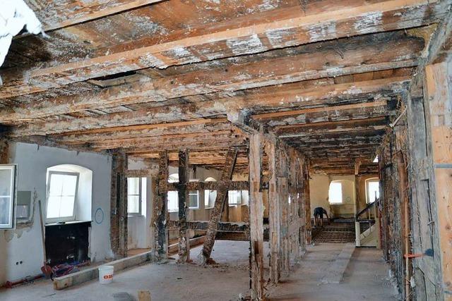 Schwamm verteuert Sanierung des Seelbacher Rathauses
