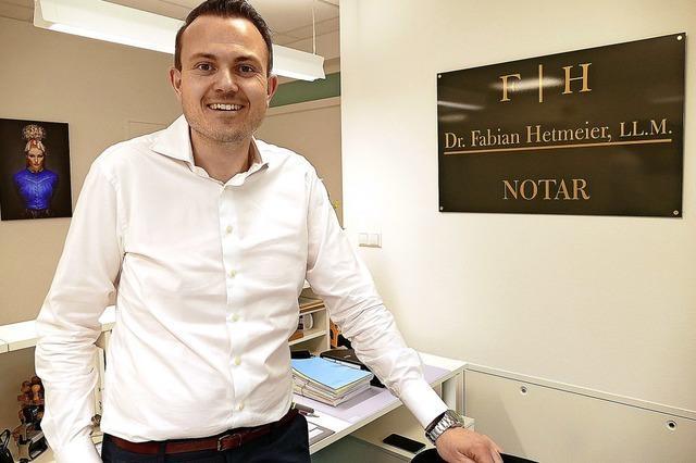 Besiegelt: Schopfheim hat neuen Notar