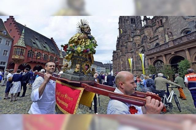 Fronleichnam in Freiburg