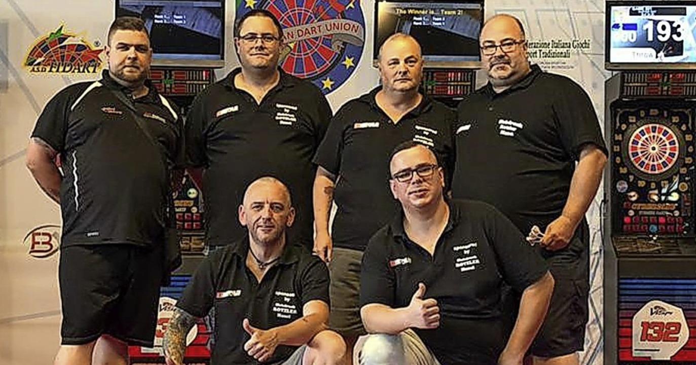 """Das Team """"DC Triff Nix"""" (h... Vorn: Marcel Rosack, Michael Rümmele.    Foto: Privat"""
