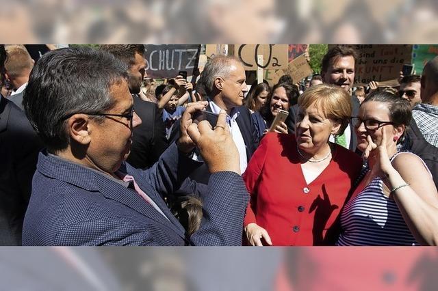 In Goslar spricht Merkel Klartext