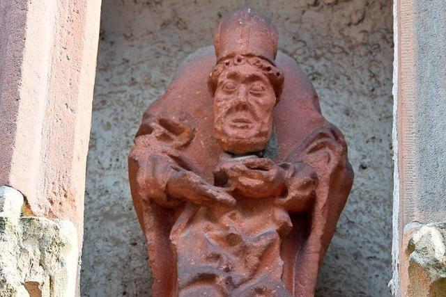 Der Heilige Alban von Mainz gilt als der