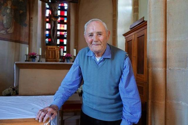 Dieser 90-Jährige ist der Glöckner von Sankt Alban in Bötzingen