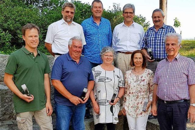 Langjährige Gemeinderäte von Schallstadt für ihre Tätigkeit geehrt
