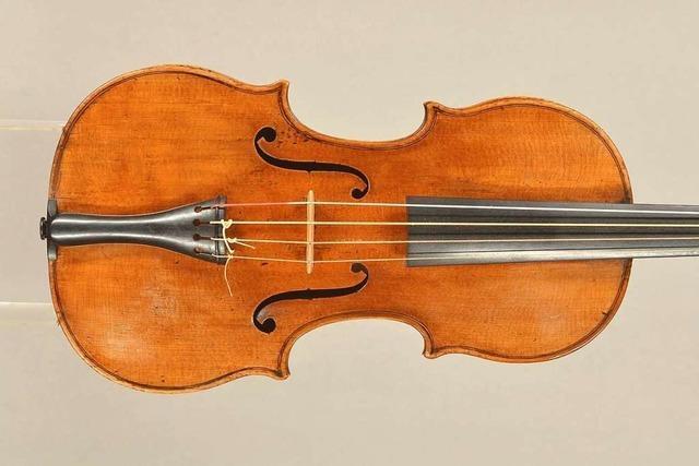 Verschwundene Geige im Wert von mehreren 100.000 Euro taucht bei Ebay wieder auf
