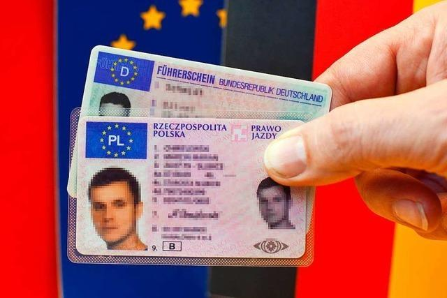 900 Euro Geldstrafe für polnischen Führerschein