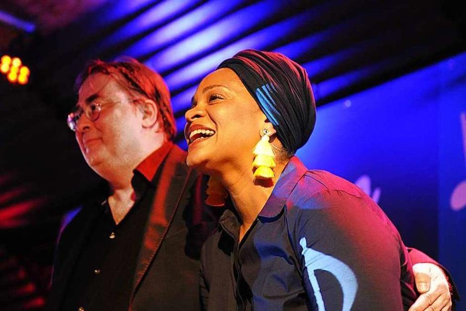 Pianist Christian Gutfleisch und Sängerin Cécile Verny. (Foto: Andrea Schiffner)