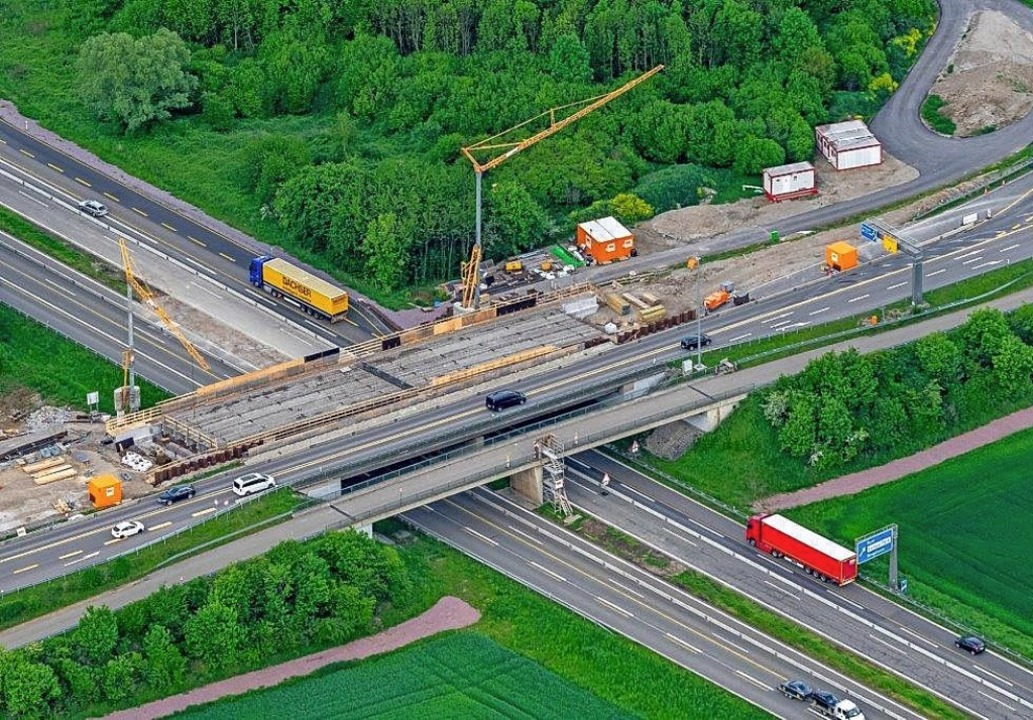 Die Erweiterung der Autobahnanschlusss...stag Thema im Gemeinderat Ringsheim.    | Foto: Martin Bildstein