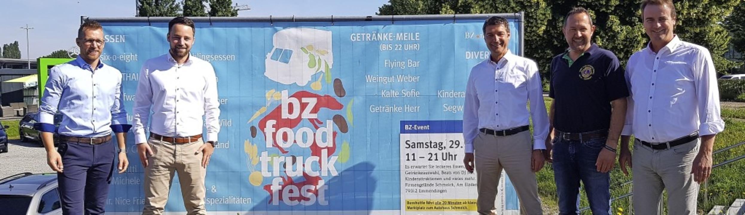 Sie organisieren das BZ-Foodtruck-Fest...r, Martin Frey und Bernhard Schmolck.     Foto: Gerhard Walser