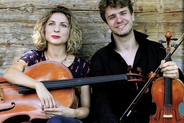 Duo Twowell gibt Konzert im Rahmen der Mary Codman Classics in Laufenburg