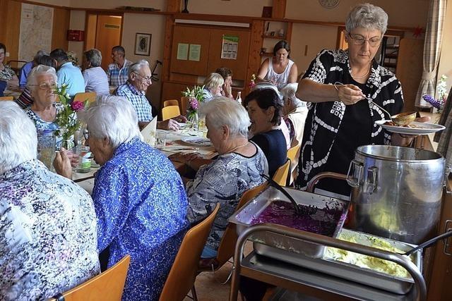 Auch in Rickenbach gibt es jetzt einen Mittagstisch für Senioren