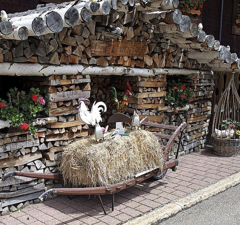 Wo steht dieses Holzhaus, das eigentli...steht?<BZ-Foto>Thomas Mutter</BZ-Foto>