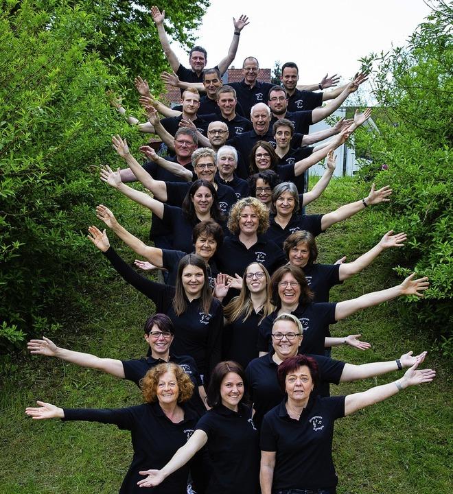 Der Gesangverein Egringen in seinem Jubiläumsjahr    Foto: Marius Wagener