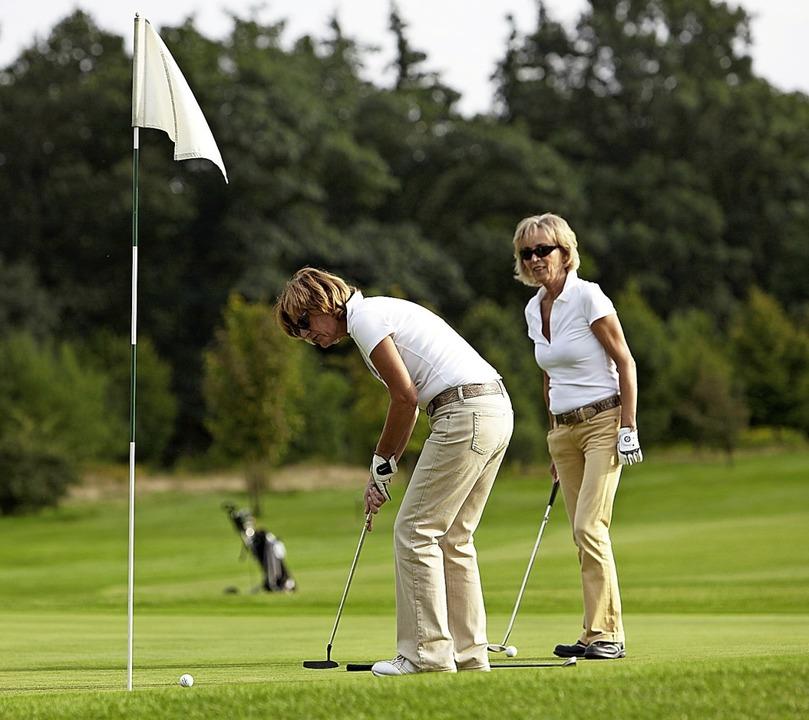 Golfen für den guten Zweck kann man bald in Kandern.    Foto: fotofuerst - stock.adobe.com