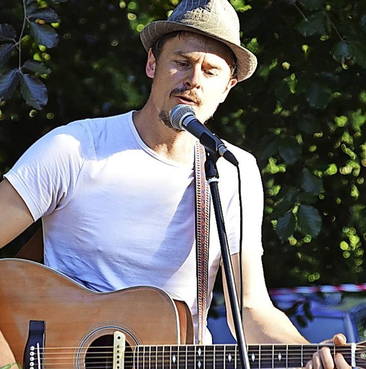 Ben Meech präsentiert dieses Jahr wied...Schwander Singer-Songwriter Festival.     Foto: Stefan Ammann