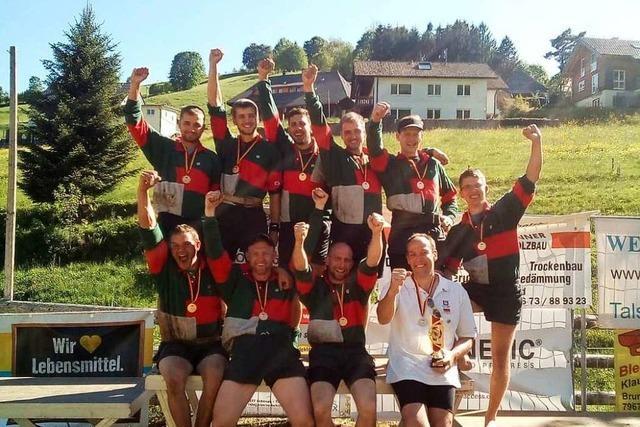 Der Tauziehclub Simonswald ist Deutscher Meister und fährt zur Europameisterschaft