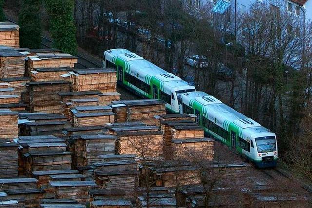 Darum hält der Zug auch mal am Ende des Bahnsteigs