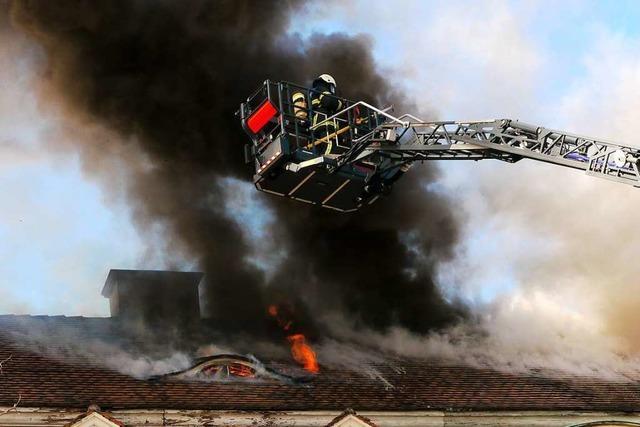 Freiburger Feuerwehr rettet 425 Menschen im Jahr 2018