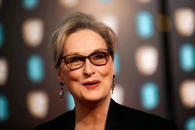 Die Schauspielerin Meryl Streep wird am Samstag 70