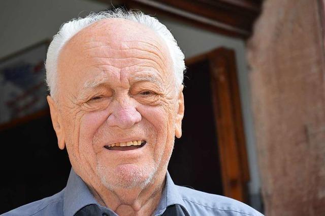 Der Unternehmer Manfred Wampfler feiert seinen 90. Geburtstag