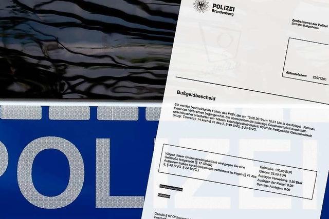 Betrügerische E-Mails mit gefälschten Bußgeldbescheiden im Umlauf