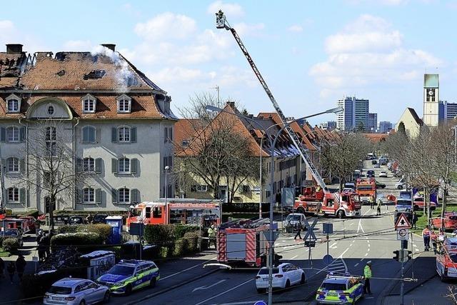 Feuerwehr rettete 425 Menschen