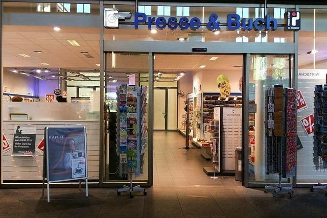 Im Badischen Bahnhof gibt es bald keinen Zeitungskiosk mehr
