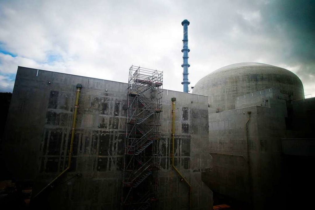 Der Flamanville 3 Reaktor (Foto vom 18.02.2018).  | Foto: CHARLY TRIBALLEAU (AFP)