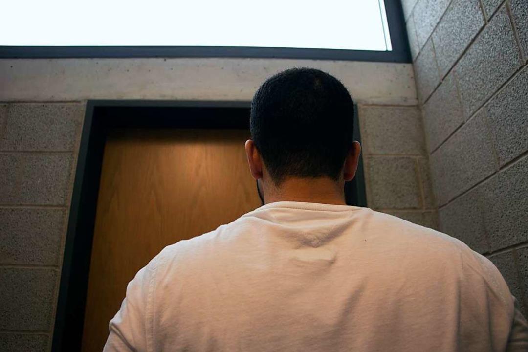 Hamza C. hat in seiner Haft die Ausbil...zum Industriemechaniker abgeschlossen.    Foto: Bucher