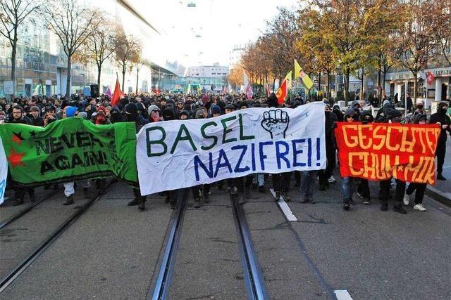 Kundgebung in der Innenstadt gegen Rechtsextremismus