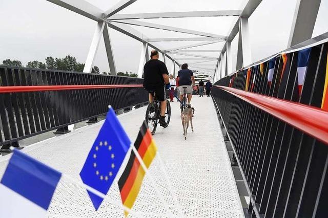 Grenzüberschreitender Radweg von Rheinau nach Frankreich eröffnet
