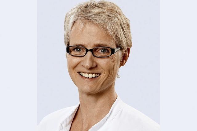 Oberärztin Babette Jansen spricht zum Thema Organspende