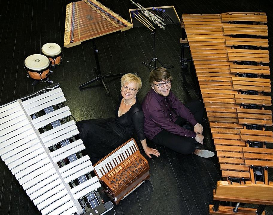 Almut Schwab und Jan Köhler bilden mit...afina. <BZ-Foto>Veranstalter</BZ-Foto>