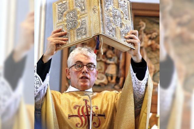 Die St. Johannes-Pfarrei feiert Patrozinium und Pfarrer Ewald Billharz