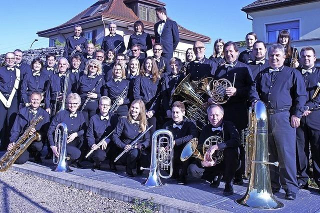 Musikgesellschaft Kaiseraugts zu Gast in Badenweiler