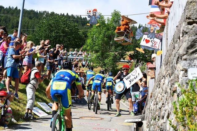 Wie Mountainbiker und Fans beim Ultra Bike in Kirchzarten feiern