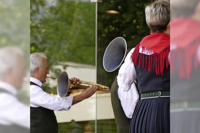 Im Bad Krozinger Kurpark wurde die Jagd eröffnet