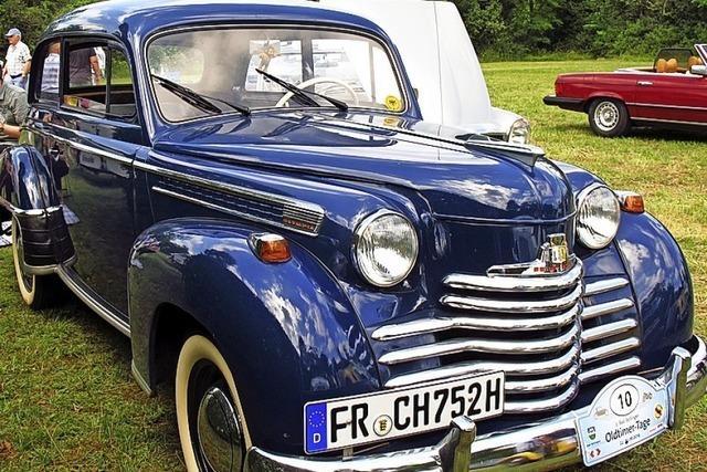 Edle alte Autos – das pure Vergnügen
