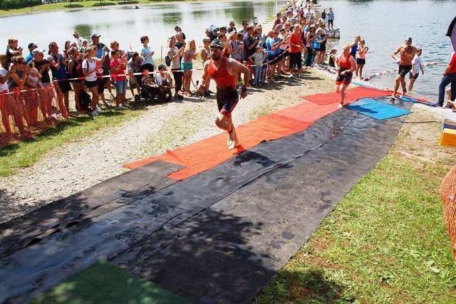 Rund 340 Sportler starteten beim Rigolator am Sonntag in Riegel